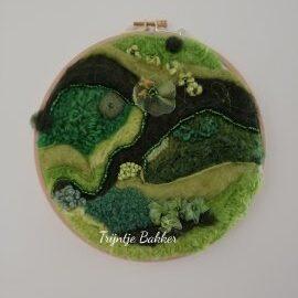 cirkel in groen